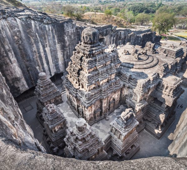 Kailas Temple in Ellora, Maharashtra state in India